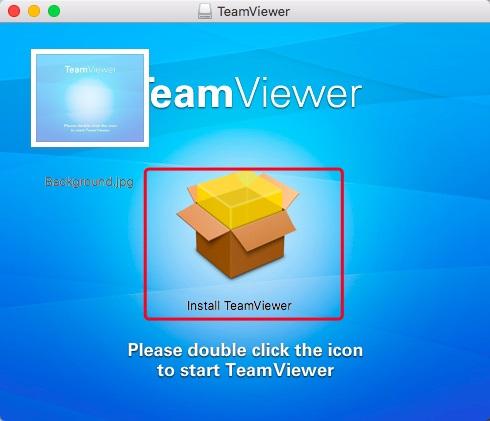 TeamViewer双击安装