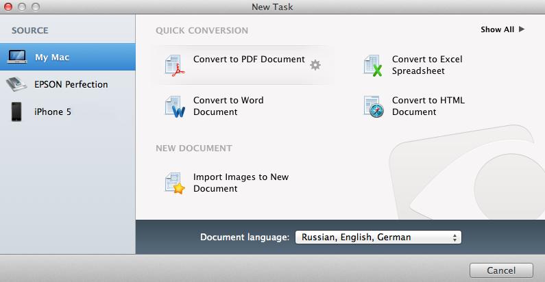 FineReader for mac