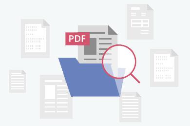 创建可搜索的PDF文件