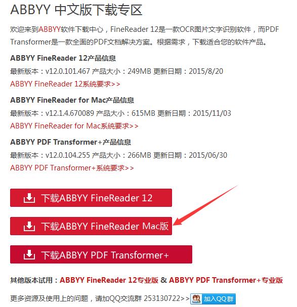 FineReader Pro for Mac下载