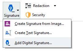数字签署PDF