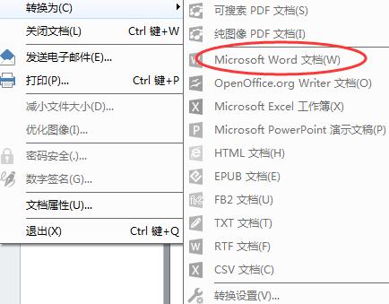 转换为Word文档