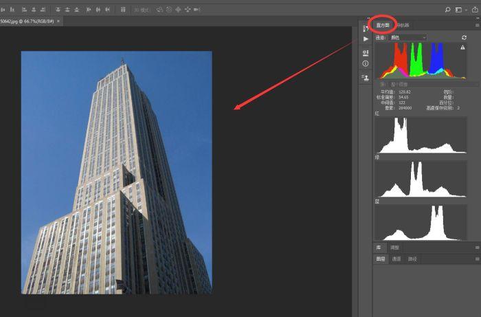 Ps插件属性exposure的亮点功能——直方图