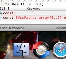 支持MAC OS X版本