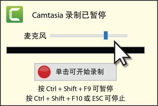 图 4:准备录制界面