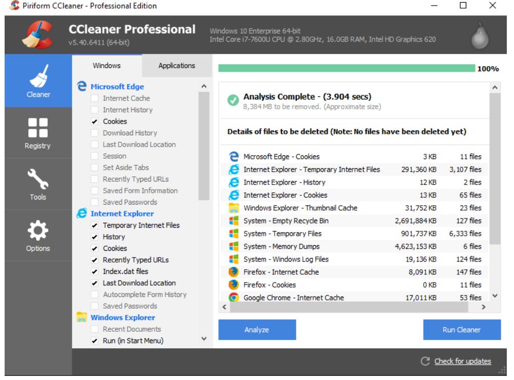 垃圾清理软件,帮你一键清理浏览器!