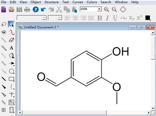ChemDraw编辑杂原子的技巧