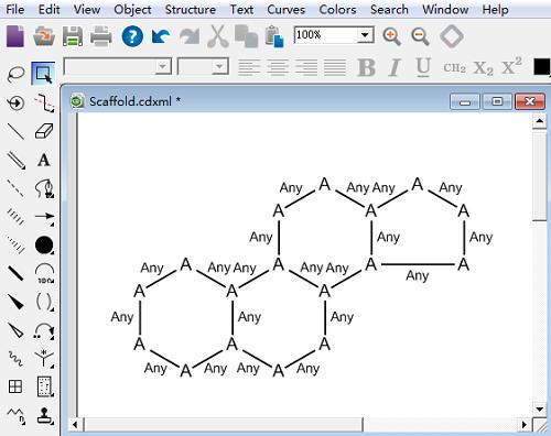 CDXML格式文件示例