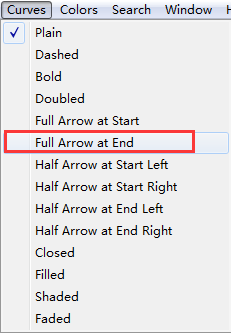 Full Arrow at End命令