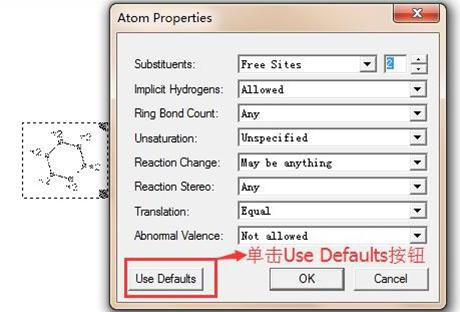 单击Use Defaults按钮