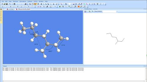 ChemOffice Professional绘制立体结构