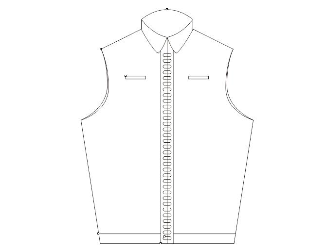 如何使用CDR进行服装设计?