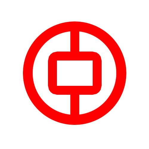 如何用CorelDRAW制作中国银行标志