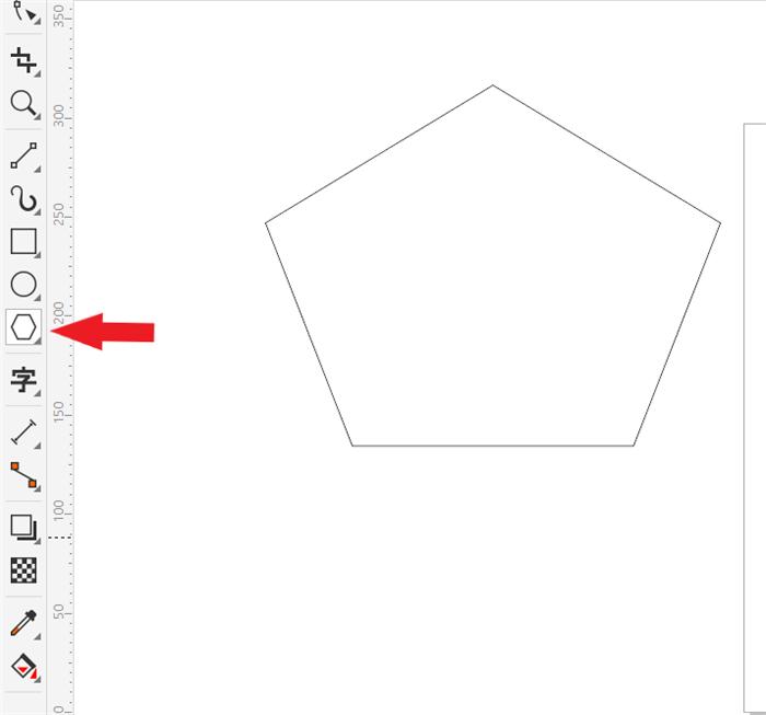 如何利用CorelDRAW软件绘制等边三角形