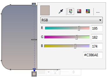 CorelDRAW X7绘制2.5D相机图标