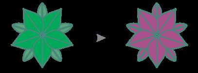 CDR单独编辑对称