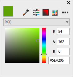颜色工具指定颜色