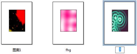 页面排序器视图