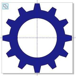 cdr齿轮造型