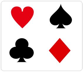 cdr扑克牌