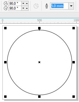 CDR中快速实现色相环的方法