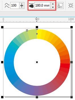 CDR色相环