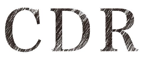 CDR涂鸦字