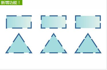 虚线和轮廓拐角控制