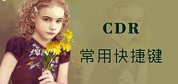 CDR常用快捷键有哪些
