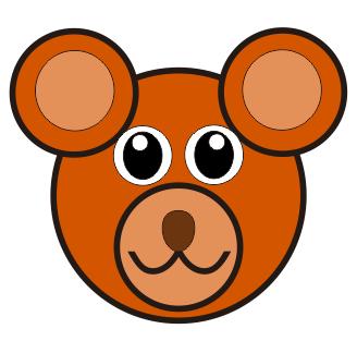CDR画小熊
