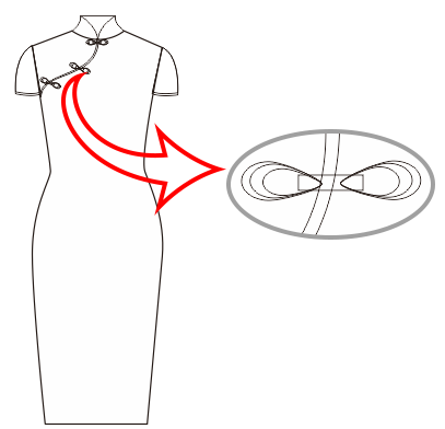 CDR旗袍
