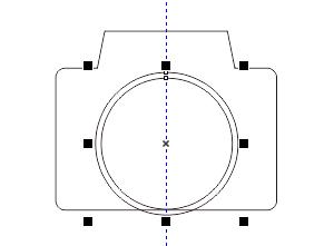 CDR绘制圆形