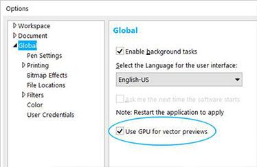 GPU 加速位图预览