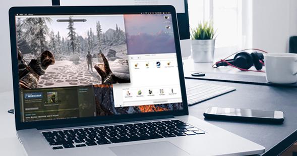 在 Mac 上玩网游的简单方式