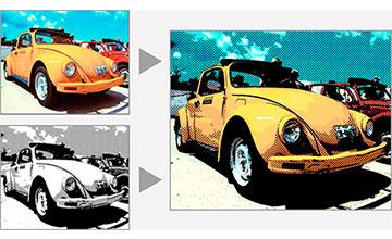 從照片或3D模型中提取輪廓線或色塊