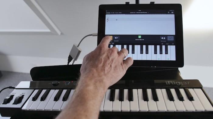 Ear Master练耳大师如何试用外接MIDI键盘