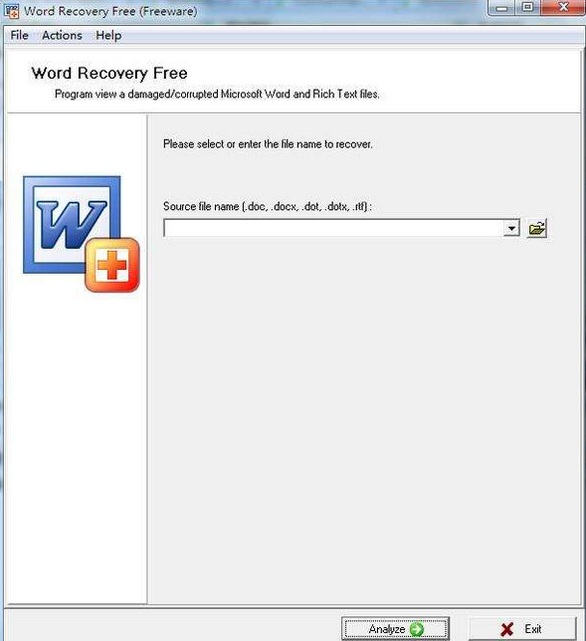 Word Recovery Free