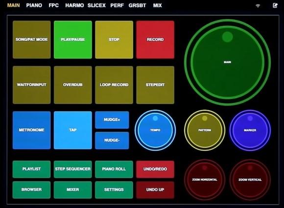 flstudio 控制器