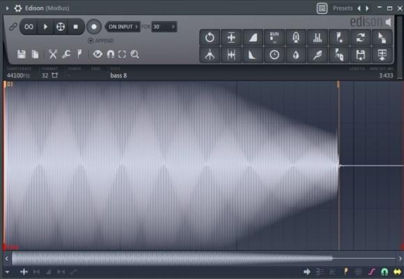 FL Studio 插件Edison