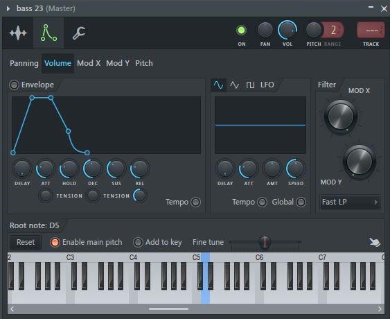 FL Studio 通道设置