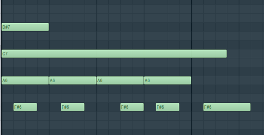 FL Studio鋼琴卷軸中的翻轉命令