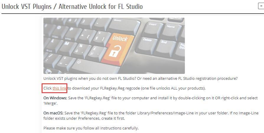 下载FLRegkey文件