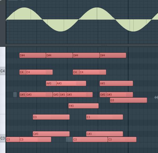 FL Studio編輯區和事件編輯區