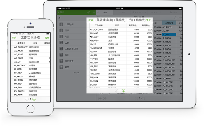 Navicat for MySQL iOS