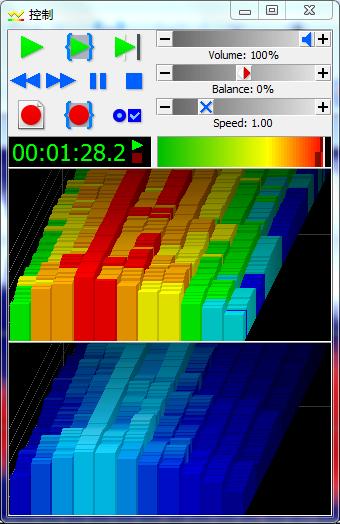 """图二:视觉""""右""""—""""3D栏""""设置后界面"""