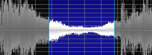 图一:无声下的小幅度不规则波动