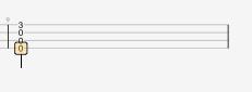 Guitar Pro 7.5 将全音符变为四分音符