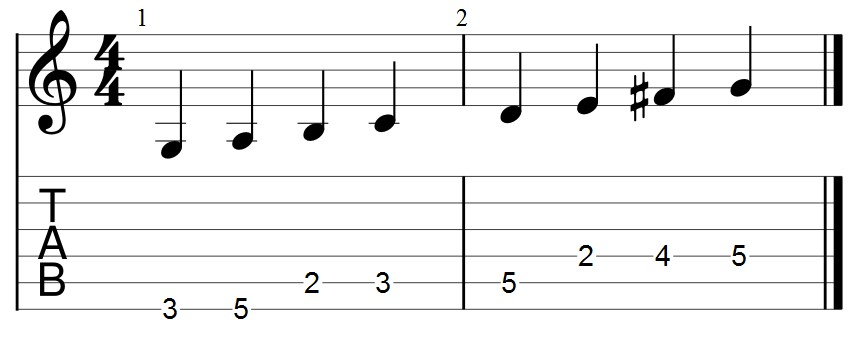 Guitar Pro如何更改五線譜的符桿方向
