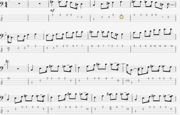 只需一步,教你轻松调整乐谱指法