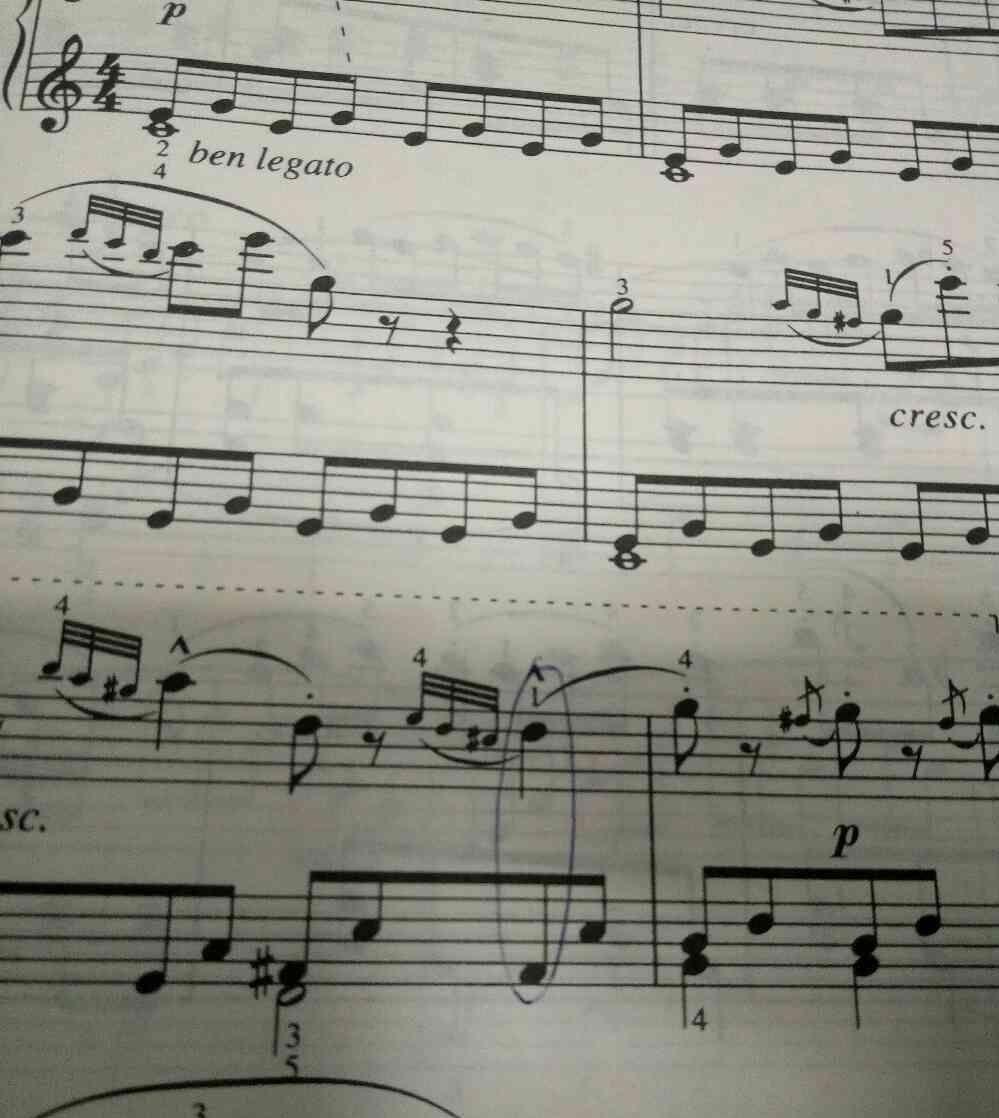 樂譜上的裝飾音